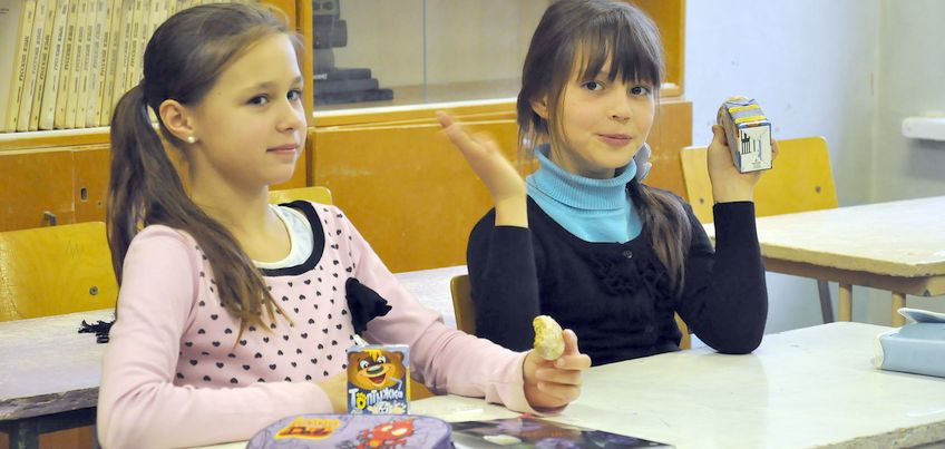 Все ученики 1-5 классов школ Удмуртии в новом учебном году будут получать бесплатное молоко