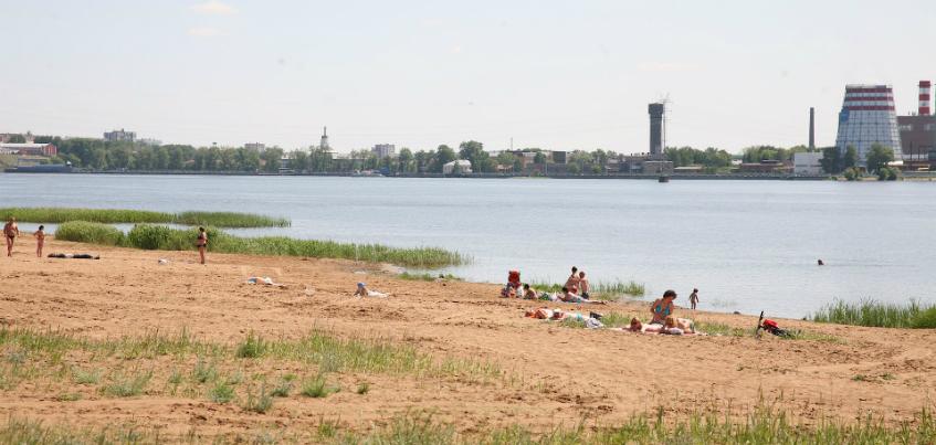 В Ижевске начали чистить городской пруд