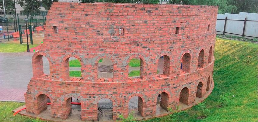 В Ижевске построили маленькую копию Колизея