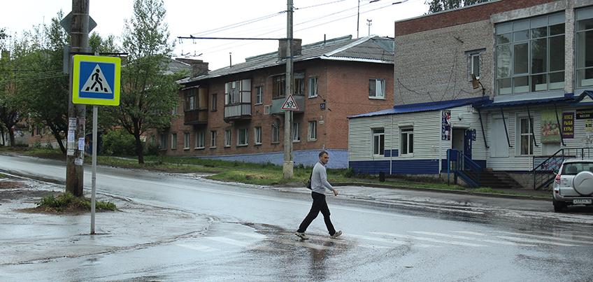 В Ижевске на улице Новой появился пешеходный переход