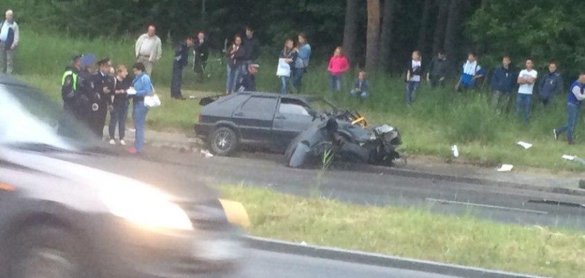 В Ижевске в ДТП погиб молодой водитель «четырнадцатой»