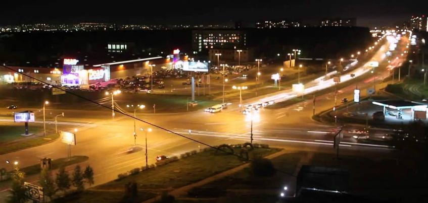 На улицах Союзная и Молодежная в Ижевске включили свет