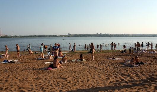 Раздевалки, фонтанчики для питья, детская «купалка»: пляж Ижевска откроют 30 мая