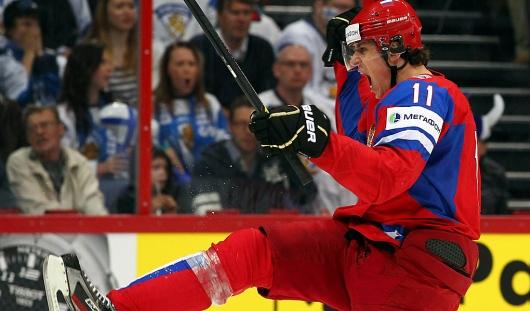 Малкин сломал челюсть игроку сборной Финляндии в финальном матче чемпионата мира