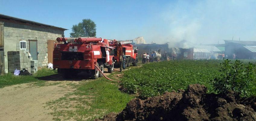 На территории монастыря в Удмуртии произошел пожар