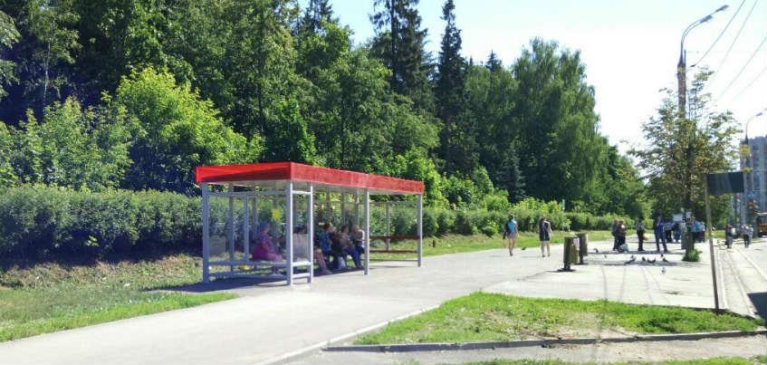 В Ижевске на Удмуртской появилась новая остановка для пригородных автобусов