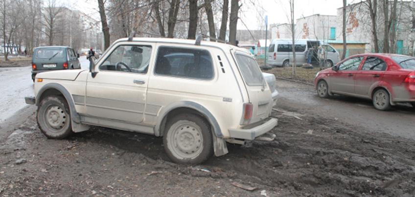 Управление муниципальной милиции Администрации Ижевска ежедневно штрафует автомобили за неправильную парковку