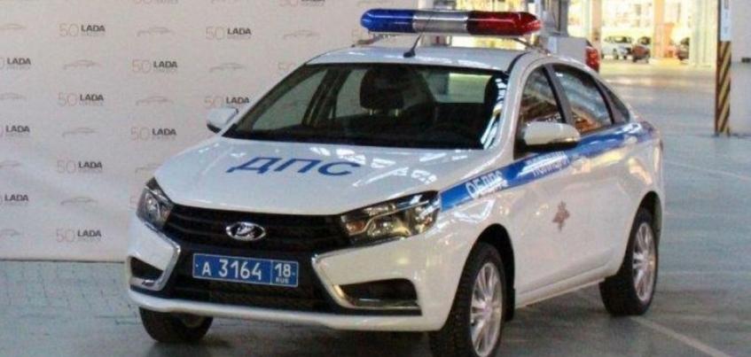 Сотрудники ДПС Удмуртии получили 12 автомобилей LADA Vesta