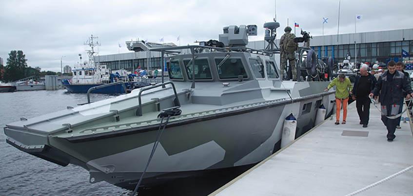 Военные катера ижевского концерна «Калашников» начали поставлять в российскую армию