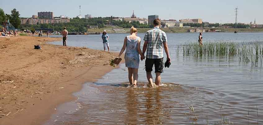 Ижевчанам расскажут о мошенниках и состоянии городского пляжа