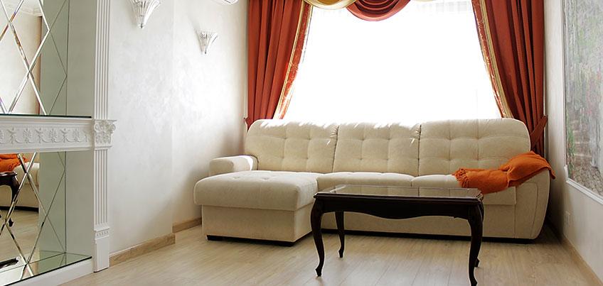 Красивые квартиры Ижевска: четырехкомнатная квартира в классическом стиле