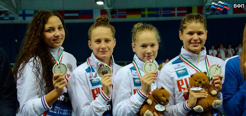 Глазовчанка Маргарита Дрямина выиграла две медали на Первенстве Европы по плаванию