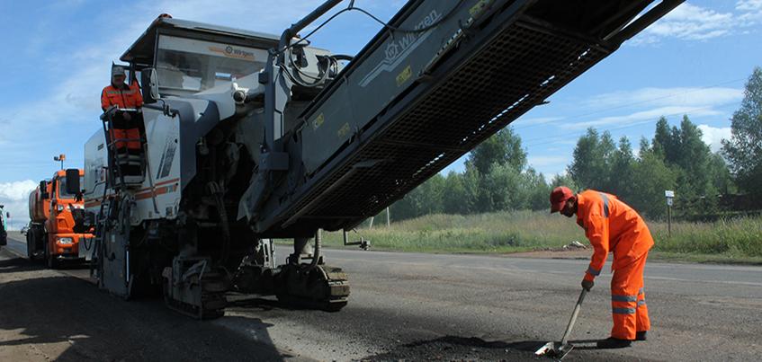 В Ижевске начали ремонт Славянского шоссе