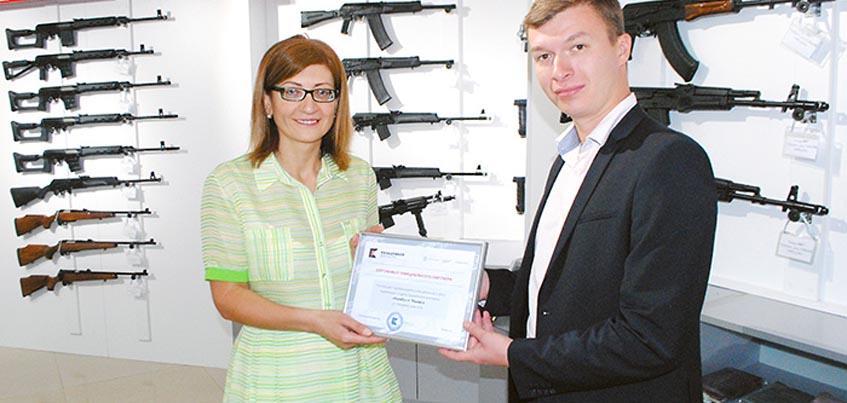 За рубежом открыли первый фирменный отдел ижевского концерна «Калашников»