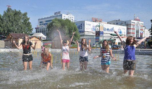 В первые дни лета в Ижевск вернется 30-градусная жара