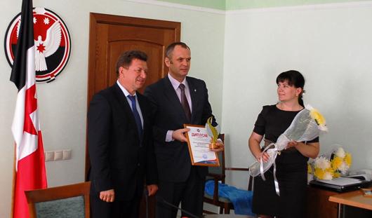 «Ростелеком» награжден за победу в конкурсе «лучший инвестор Удмуртии 2013 года»