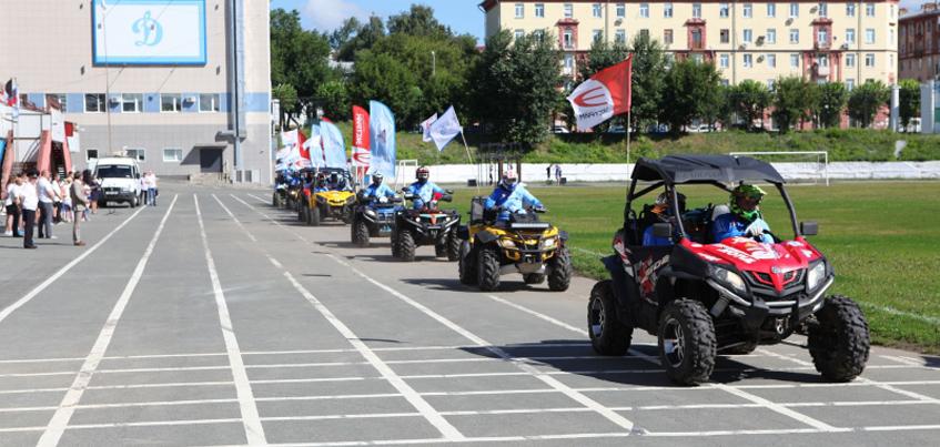 В честь 90-летия «Динамо» в Ижевске начался квадропробег