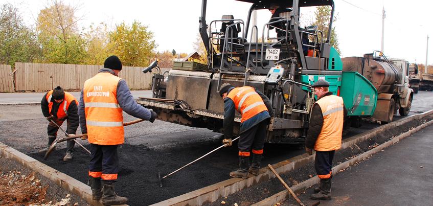 Дорогу к ижевскому аэропорту начали ремонтировать