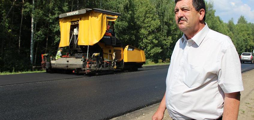 Из-за расширения дороги на Сарапульском тракте перенесут березовую аллею