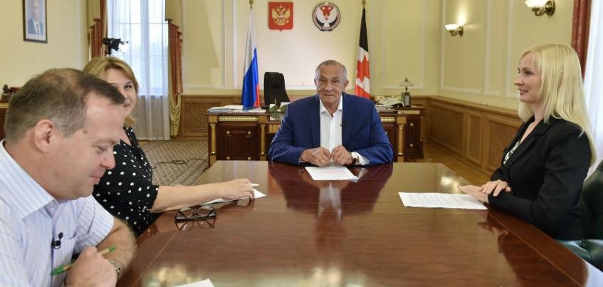 Глава Удмуртии о депутатах Госдумы от республики: Они могли бы работать поактивнее
