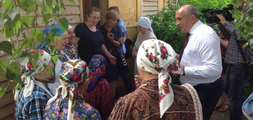 Глава Удмуртии встретился с «Бабушками из Бураново»