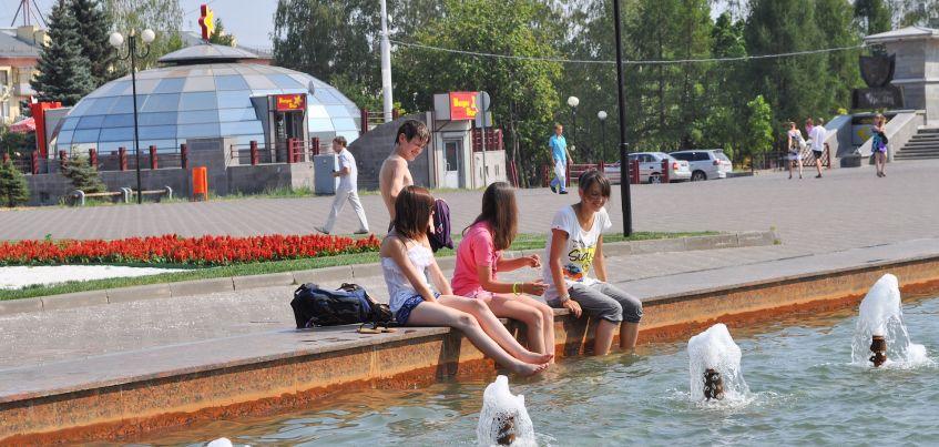 В выходные в Ижевске столбик термометра поднимется до +30 градусов тепла