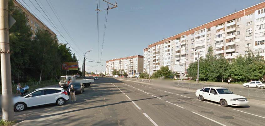 На улице Молодежной в Ижевске временно запретили движение транспорта
