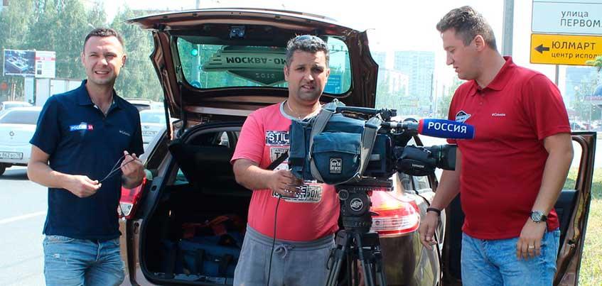 Журналисты телеканала «Россия 24»: «Дешевая разметка стирается, дорожных знаков не хватает»
