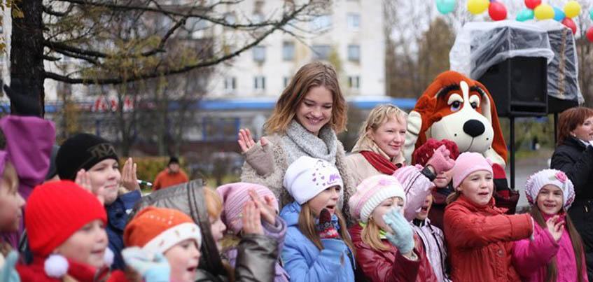 Детскую площадку в Удмуртии частично оплатит Благотворительный фонд Натальи Водяновой