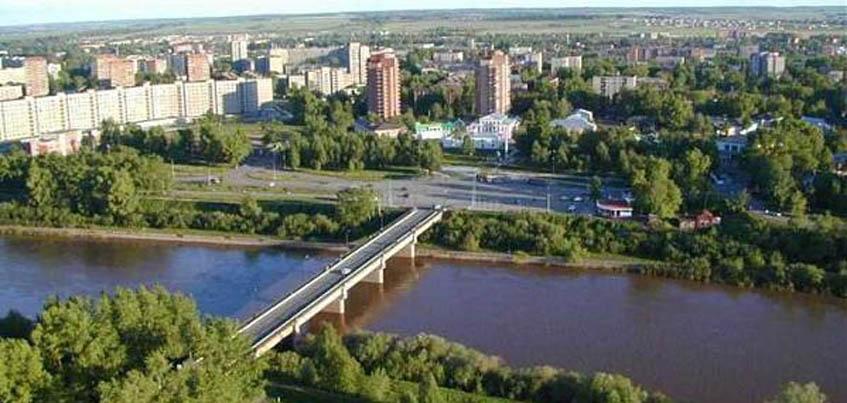 Житель Удмуртии упал с моста в реку вместе со своей собакой