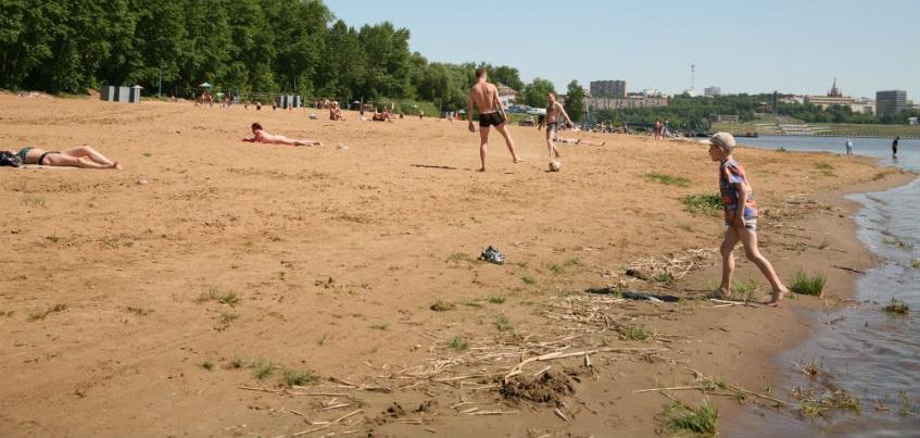 Комплекс бань и саун  предлагают построить на пляже Ижевска