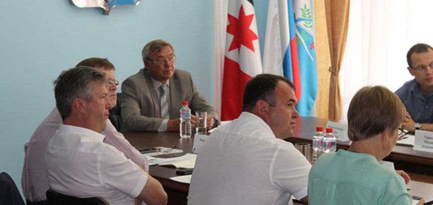 Глава Ижевска Юрий Тюрин провел заседание Инвестиционного совета
