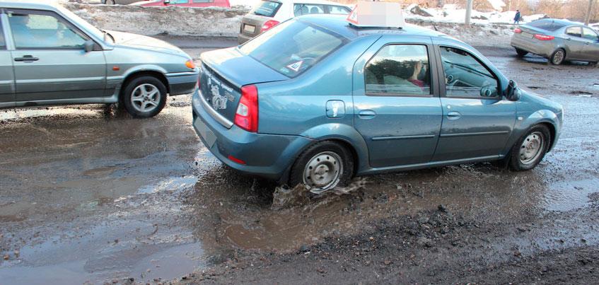 В Ижевске в этом году на улице Партизанской сделают только ямочный ремонт
