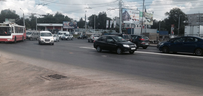 Ремонт ижевских дорог окончен на 60%