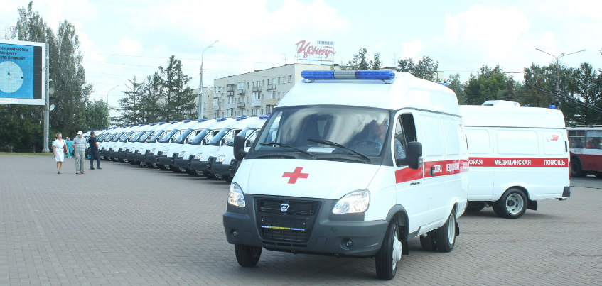 Автопарк «скорой помощи» в Удмуртии пополнился на 24 машины