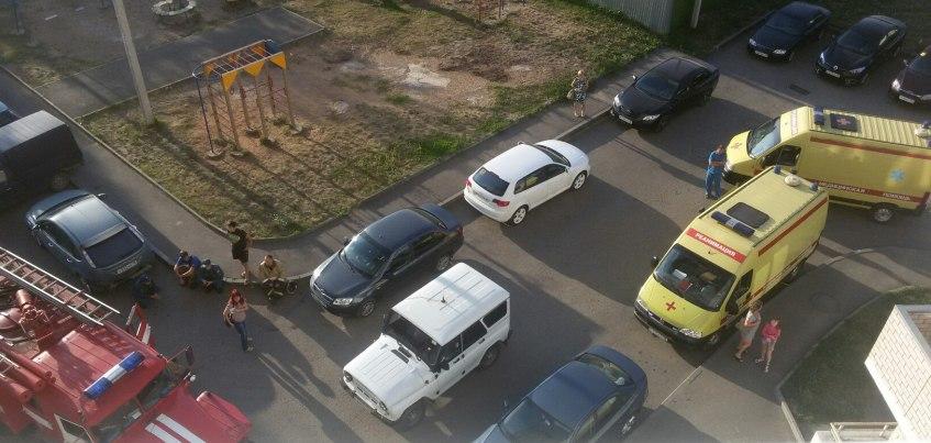 В Ижевске в доме на улице Зои Космодемьянской нашли труп женщины с сильными гематомами