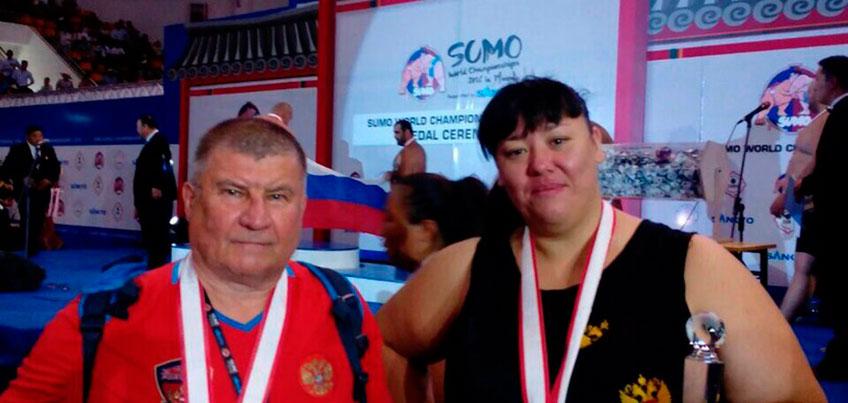Сумоистка из Удмуртии Анна Жигалова-Полякова выиграла своё 12 «золото» на чемпионате Мира