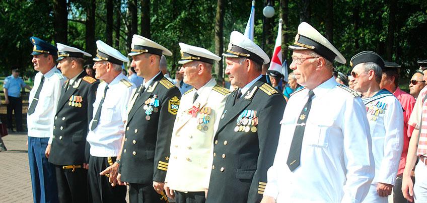 День ВМФ России отметили в Ижевске