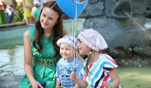 День защиты детей в Ижевске: много солнца и ребячьей радости