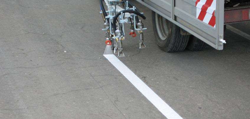 На новые дороги в Удмуртии разметку нанесут в течение этой недели