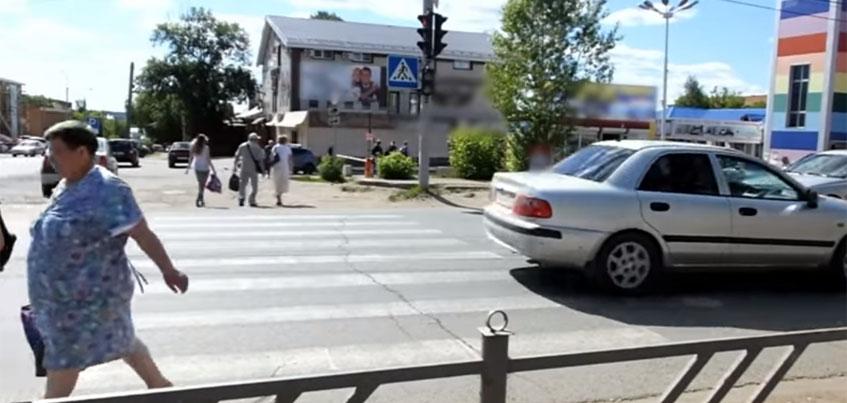 Пешеходные переходы Удмуртии попали на «Первый канал»