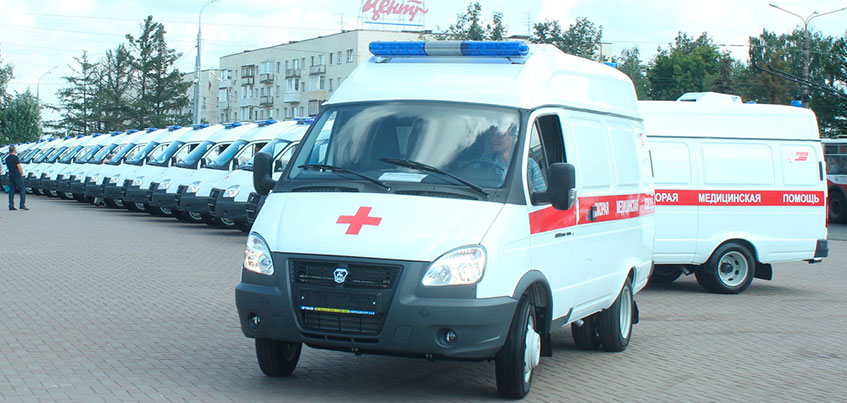 Новые машины скорой в Удмуртии смогут перевозить по два пациента за раз