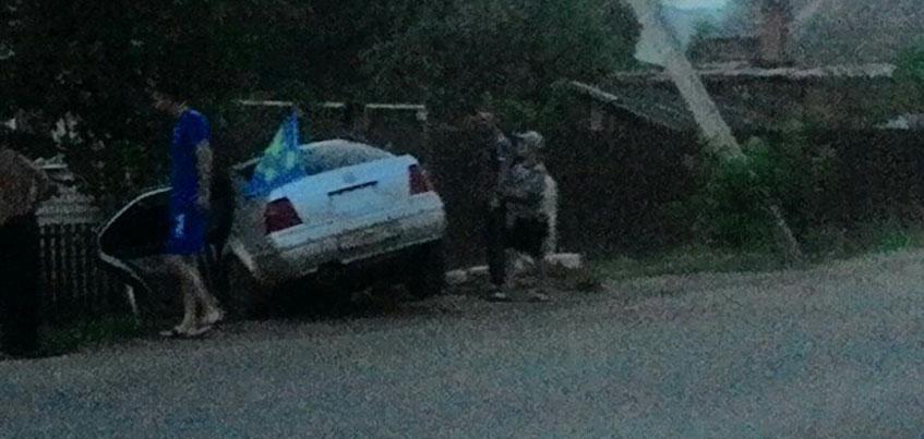 В Удмуртии машина с сарапульскими десантниками в День ВДВ врезалась в столб