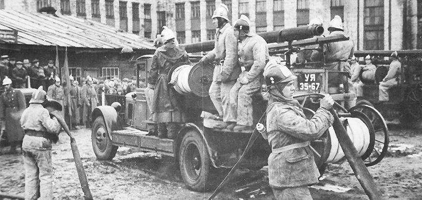 История улицы Горького: как в Ижевске появилась первая пожарная часть