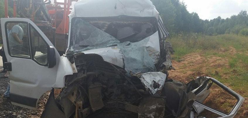 Водитель «Фиат» погиб на месте после столкновения в «КАМАЗом» В Удмуртии