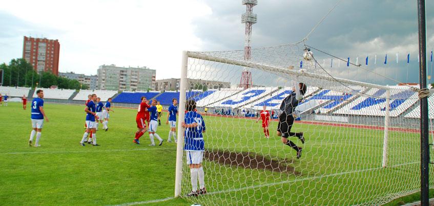 Футбольный клуб «Зенит-Ижевск» выиграл у нижнегородского «Олимпийца» со счетом 3:0