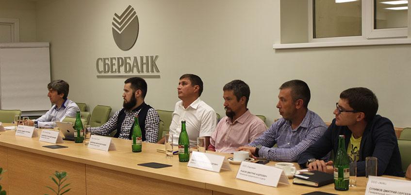 Сбербанк собрал за круглым столом ведущих застройщиков Удмуртии