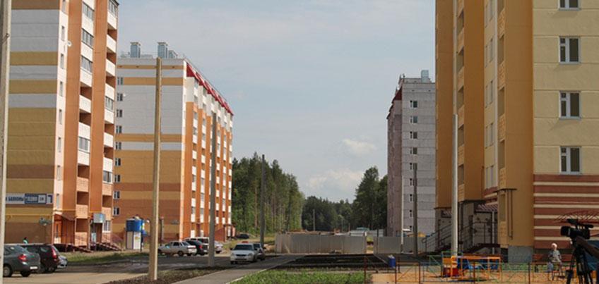В Ижевске строят 80 жилых домов и новую школу в микрорайоне «Столичный»