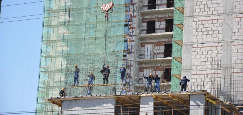В Удмуртии наблюдается спад объемов строительства