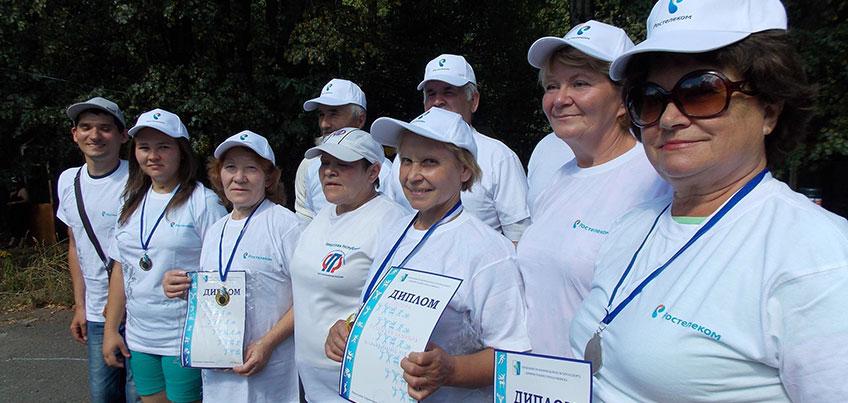 Ростелеком поздравил членов спортивного клуба инвалидов «Родниковый край» с Днем физкультурника